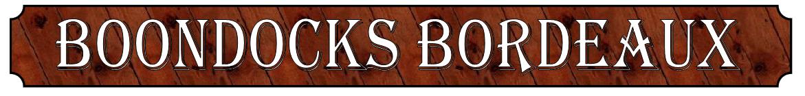 Boondocks Bordeaux